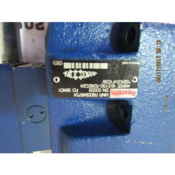 REXROTH 3DREPE6C-20/25EG24N9K31/F1V HYDRAULIC PROPORTIONAL VALVE USED