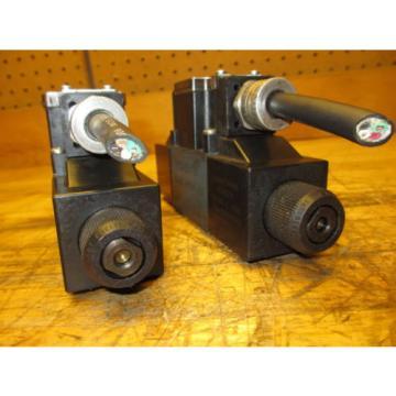 Mannesmann Rexroth 4WE6J61/EW110N9DAL Hydraulic Directional Valve 021464 Coil