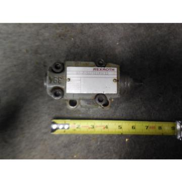 Origin REXROTH RELIEF VALVE DB10-2-52/315YU/12