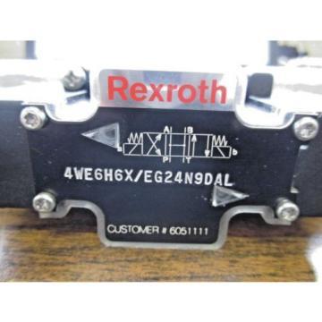Origin REXROTH HYDRAULIC DIRECTIONAL CONTROL VALVE 4WE6H6X/EG24N9DAL