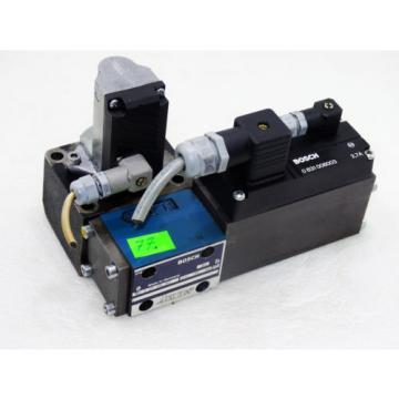 Rexroth Bosch 0831006003 + 0811404163 + 1837001302  /  Proportional valve ventil