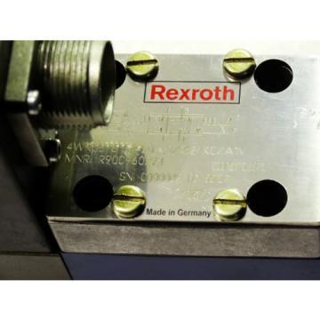 Rexroth Bosch valve ventil 4WRSE 6 E1-20-31/G24K0/A1V / R900960294    Invoice