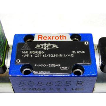 Rexroth Bosch R900952804 / 4WE 6 Q21-62/EG24N9K4/A12 ventil valve  /  Invoice