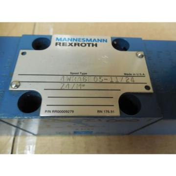 Rexroth Mannesmann Directional Valve 4WRA6E05-11/24Z4/M 4WRA6E051124Z4M origin