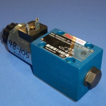 REXROTH 24VDC 125A HYDRAULIC SOLENOID VALVE, 4WE6J19A62/EG24N9K4 Origin