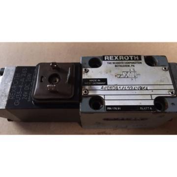 Rexroth Solenoid Valve 4WE6D51/AG24N9K4