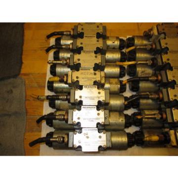 Rexroth 4WE6J60/DG24N9DK24L Hydraulic Directional Valve 24VDC Hydronorma