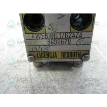 REXROTH 4WE5-N6-1/G24Z4 VALVE USED