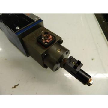 Rexroth Hydraulic Valve, 4WRE10E64-14/24Z4/V, Used, Warranty