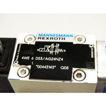 Rexroth Bosch valve ventil 4WE 6 D53/AG24NZ4 + R900924024    Invoice