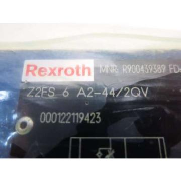 Origin REXROTH Z2FS 6 A2-44/2QV HYDRAULIC CHECK VALVE D518185