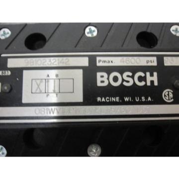 Origin BOSCH 9810232142 DIRECTIONAL VALVE # 081WV10P1V1011KL115/60D51