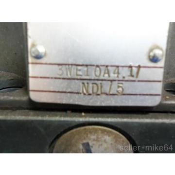 REXROTH 3WE10A41/NDL/5 HYDRO NORMA HYDRAULIC VALVE, Origin