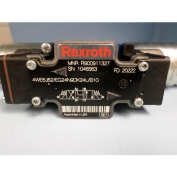 REXROTH 4WE6J62/EG24N9DK24L/B10 HYDRAULIC CONTROL VALVE R978878278
