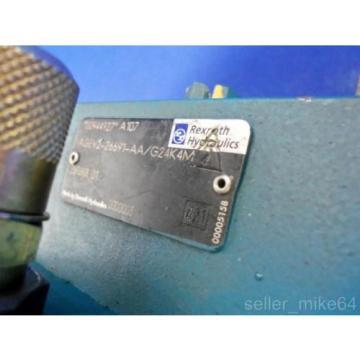 REXROTH AGEV2-26691-AA/G24K4M HYDRAULIC VALVE