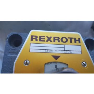 origin Rexroth Hydraulic Flow Control Valve 2FRM10-21/160L Made in Germany