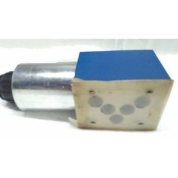 4WE10C33/CG24N9K4 BOSCH REXROTH R983031001  DIRECTIONAL CONTROL SOLENOID VALVE