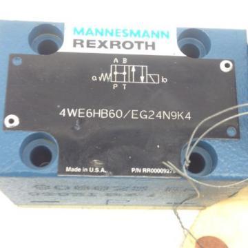 Origin REXROTH 4WE6HB6X / EG24N9K4 DIRECTIONAL CONTROL VALVE  FAST SHIP H152