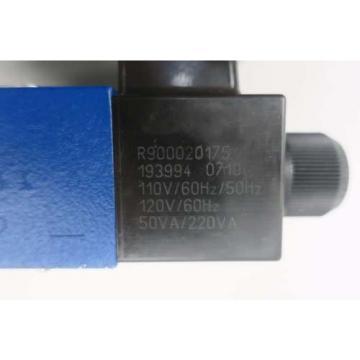 REXROTH 4WE6Y62/EW110N9K4/V/62 120V-AC SOLENOID HYDRAULIC VALVE D550084