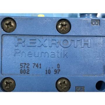 USED REXROTH PNEUMATIK 5727410220 PNEUMATIC VALVE 572 U3