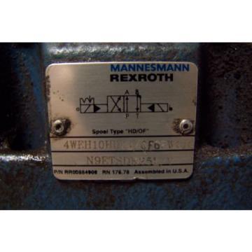 Origin MANNESMANN REXROTH 4WEH10D44/OF6EW110 HYDRAULIC DIRECTIONAL VALVE 120 VAC