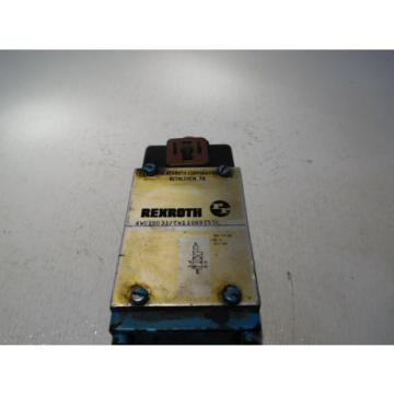 Rexroth 4WE10D31/CW110N9Z55L D05 Hydraulic Directional Valve 120Volt