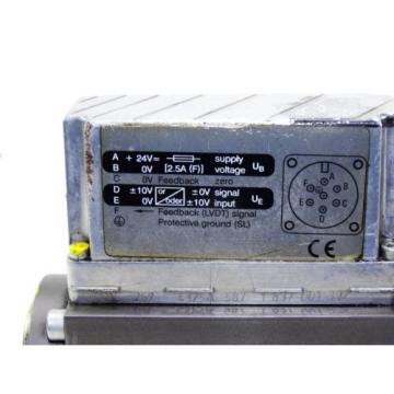 Bosch 0811404752  / 4WRPE 10 EAA80SJ-2X/G24K0/M-797 /  Proportional valve ventil