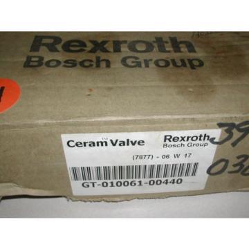 Rexroth Bosch GT-010061-00440 Ceram Valve 150 PSI origin In Box B13