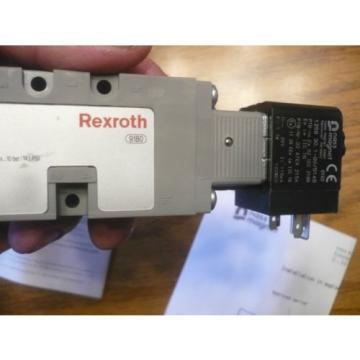 Lot of 18 origin Rexroth B820101034 Solenoid Valve