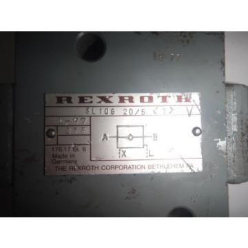 Rexroth SL10G20/5 Hydraulic Pilot Check Valve
