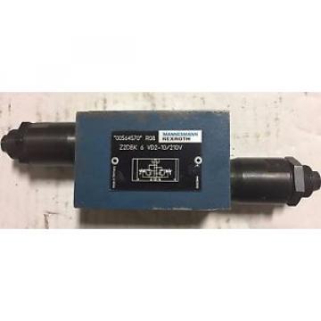 Mannesmann Rexroth Pressure Relief Valve, Z2DBK 6 VD2-10/210V