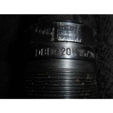 Bosch Rexroth Hydronorma hydraulic valve cartridge DBDS20K15/200  DBDs20K 15/200