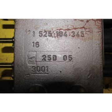 Rexroth Hydraulic Control Block Remote Valve origin No Box