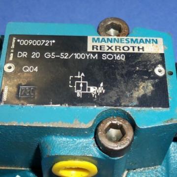 REXROTH HYDRAULIC VALVE, DR20G5-52/100YMSO160 Origin