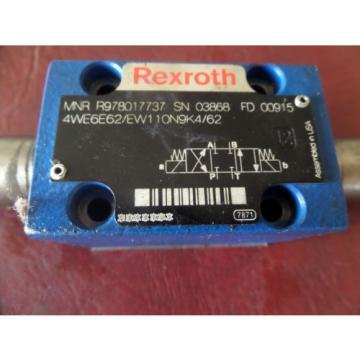 Rexroth, 4WE6E62/EW110N9K4/62, Electromagnetic Reversing Valve