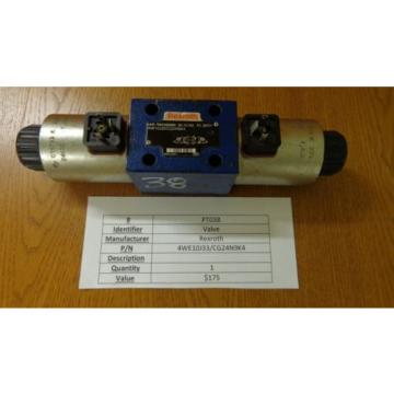 Rexroth 4WE 10 J33/CG24N9K4 Valve