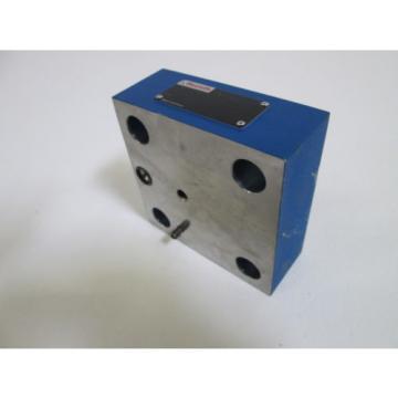 REXROTH VALVE LFR32D-1X/F Origin NO BOX