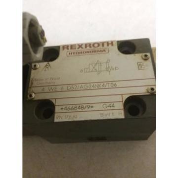 REXROTH VALVE_4 WE 6 D52/AG24NK4/T06_466848/9  G44