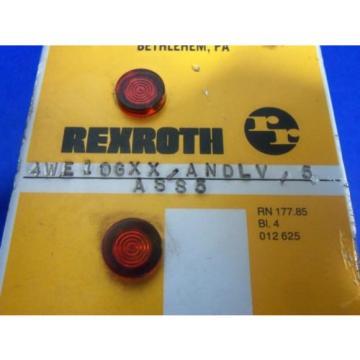 REXROTH 4WE10GXX/ANDLV/5ASS5 110/120 VOLTS 50/60 HERTZ HYDRAULIC VALVE