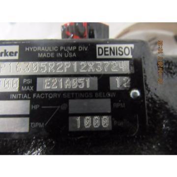 PARKER / DENISON HYDRAULIC PUMP PVP16305R2P12X3724 Origin