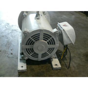 Nachi Eckerle IP Hydraulic Pump H-4B-32-20 W/ 20HP 15Kw Mitsubishi motor