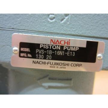 NACHI PISTON PUMP PVS-1V-16N1-13E