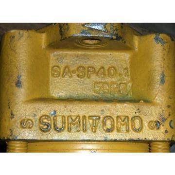 SUMITOMO HIGH-PERFORMANCE INTERNAL GEAR PUMP JCH