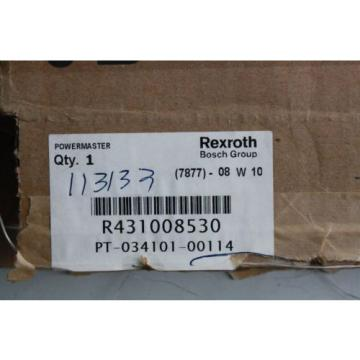 Rexroth Powermaster PT-034101-00114, R431008530, Lever Operated Pneumatic Valve
