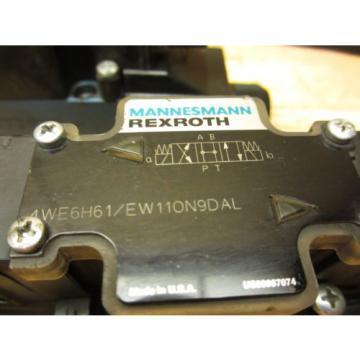 Mannesmann Rexroth 4WE6H61/EW110N9DAL Hydraulic Directional Valve 021464 Coil