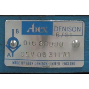ABEX DENISON Check Valve M/N: C5V 06 311 A1