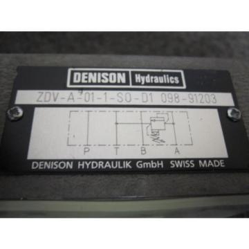 Origin DENISON FLOW CONTROL VALVE # ZDV-A-01-1-S0-D1-098-91203
