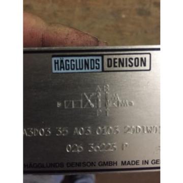 HAGGLUNDS DENISON A3D03 35A03 0103 20D1W01328 HYDRAULIC DIR CONTROL VALVE