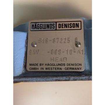 origin R4V 009 10 A1 Hagglunds Denison Hydraulic Valve S16 87225 0 Germany