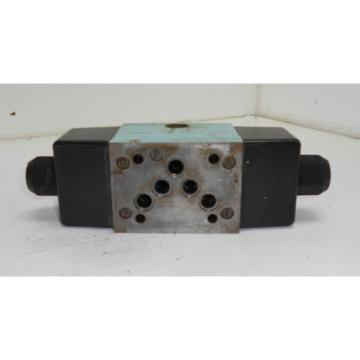 Hagglunds Denison A3D02 34 751 0902 00B5 01351 Valve w/ Dual Solenoids, Used